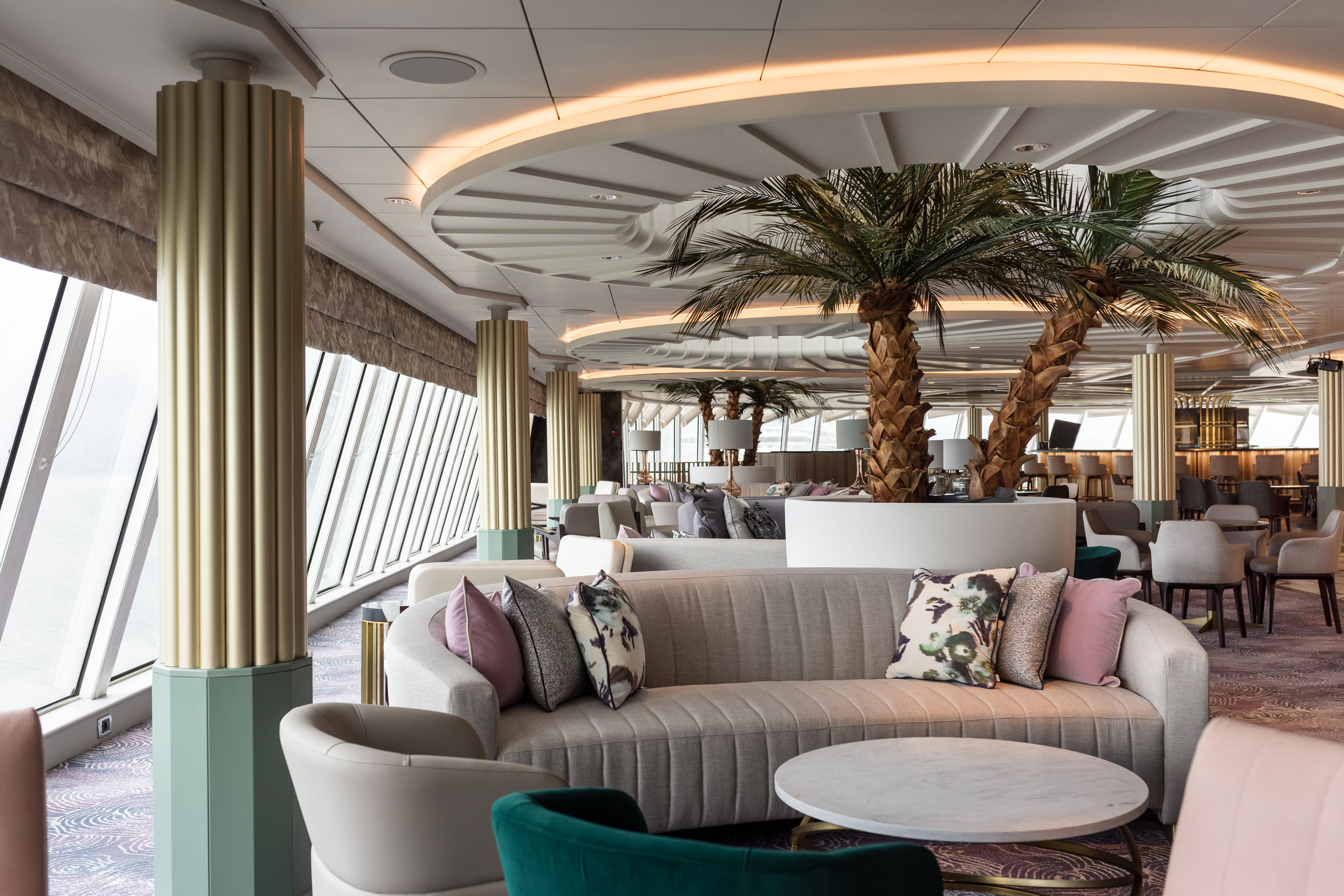Palm Court - Crystal Serenity