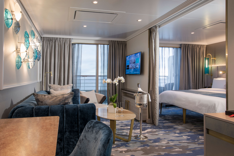 Seabreeze Penthouse Suite mit Veranda SP - Crystal Serenity - Bild 2 - Thumb