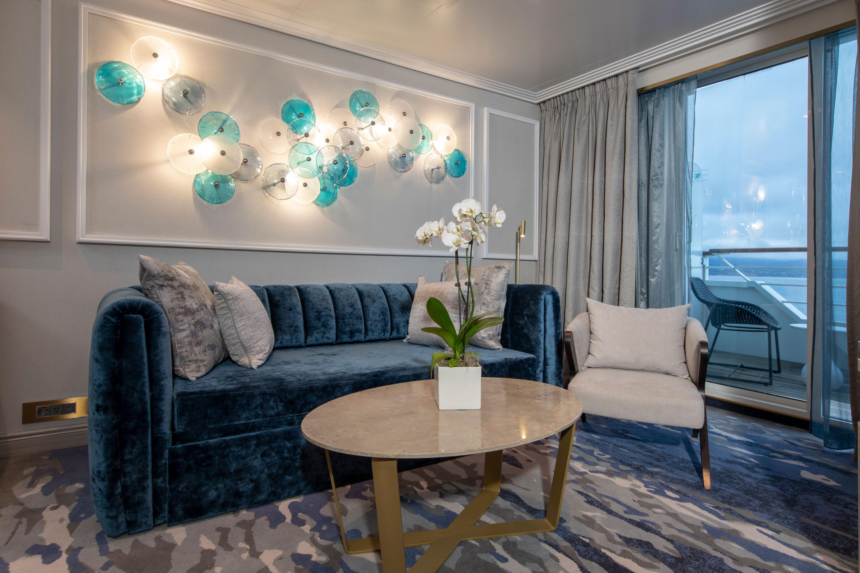 Seabreeze Penthouse Suite mit Veranda SP - Crystal Serenity - Bild 3 - Thumb