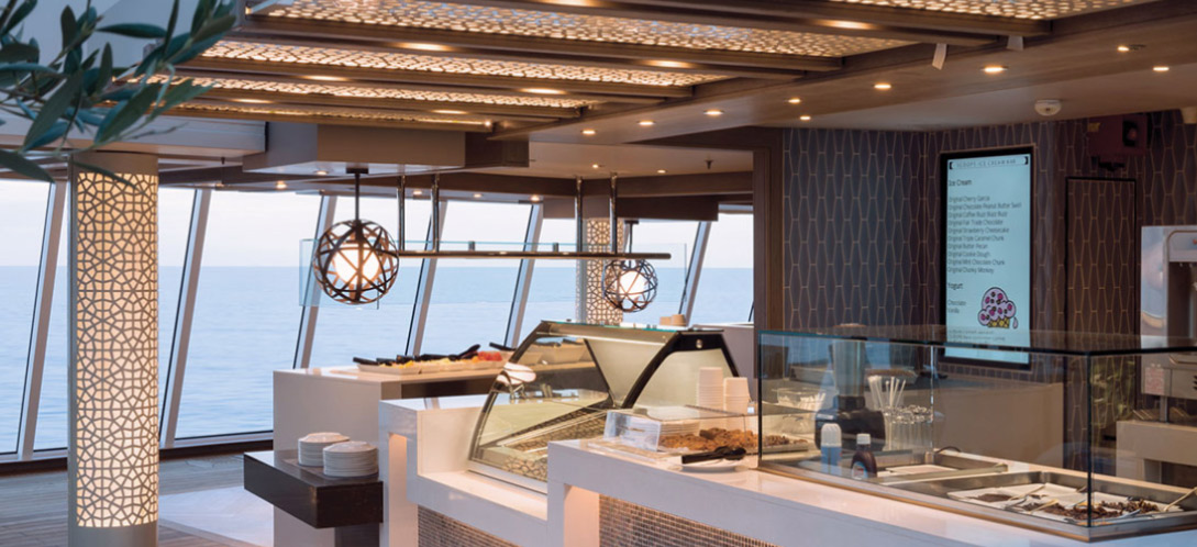 Trident Grill / Scoops Ice Cream Bar - Crystal Serenity