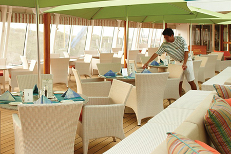 Trident Grill / Scoops Ice Cream Bar - Crystal Symphony
