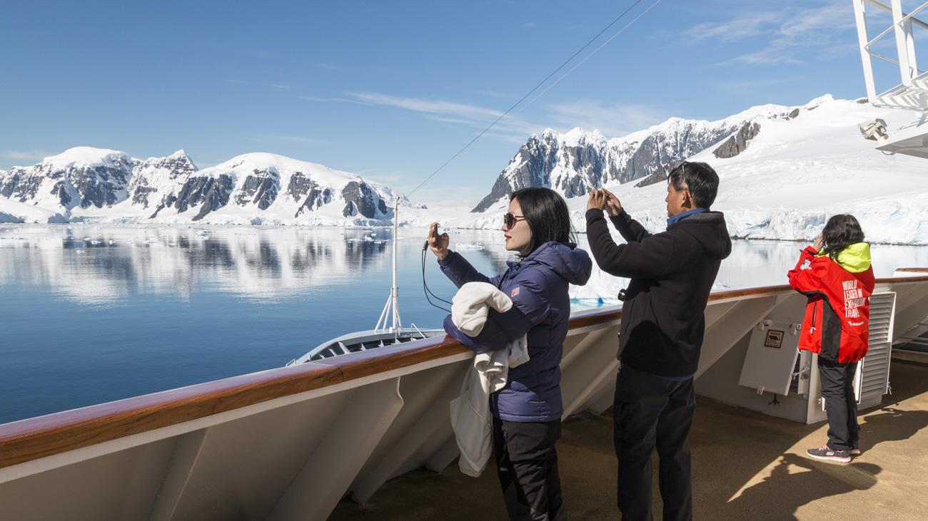 Antarktis - Große Expeditionsroute intensiv mit Südpolarkreis - Bild