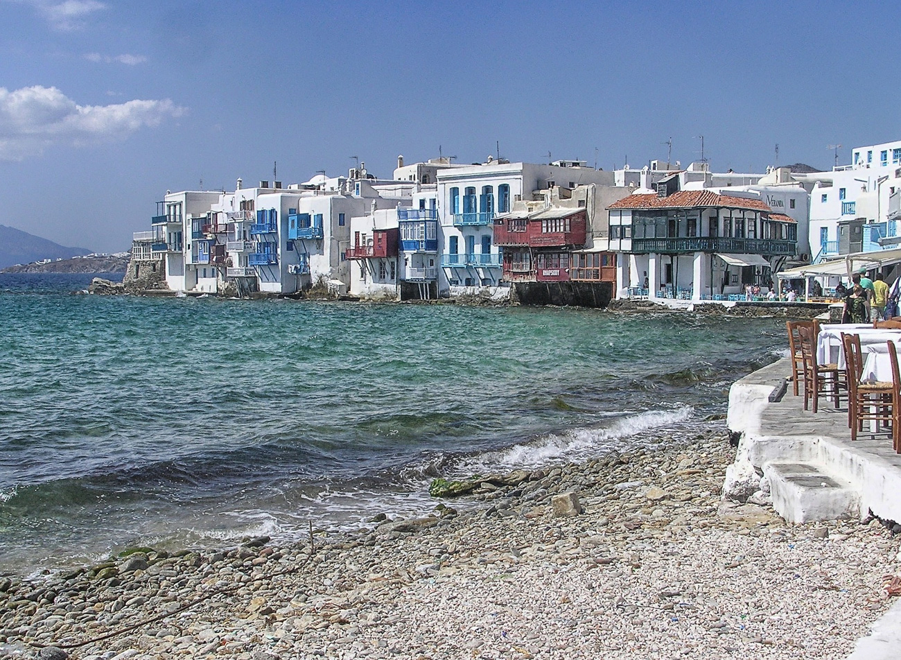 Griechisches Flair - schillernder Orient - Bild