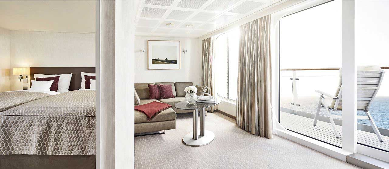 Penthouse Deluxe Suite 8 - MS EUROPA - Bild 1 - Thumb