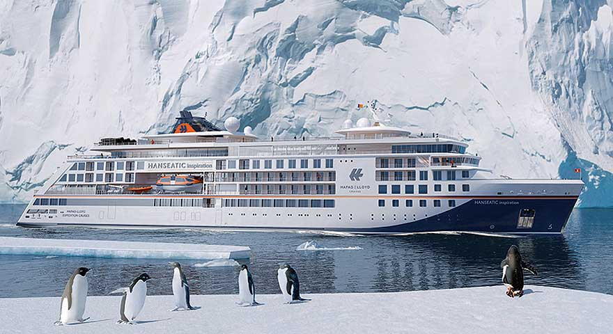 HANSEATIC inspiration - Expeditionsschiff