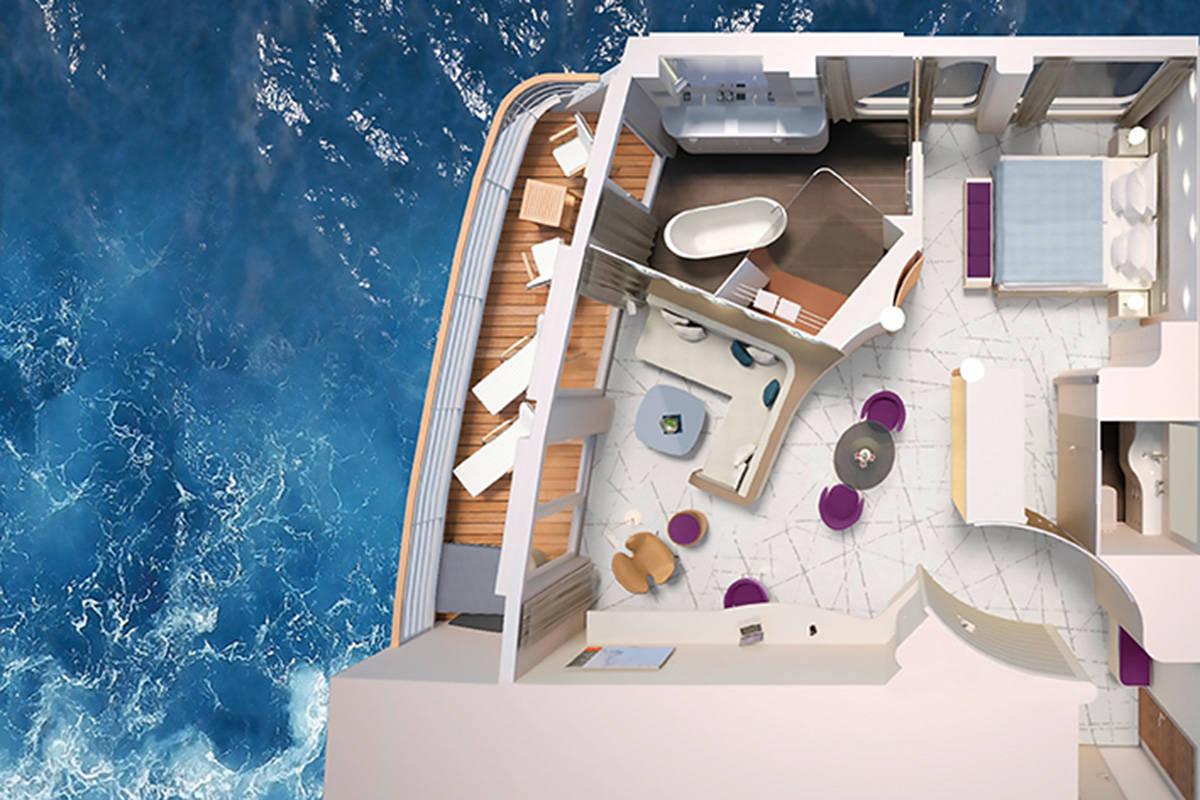 Grand Suite - HANSEATIC inspiration - Grand Suite K10 - HANSEATIC inspiration - Bild 3 - Grundriss Thumb