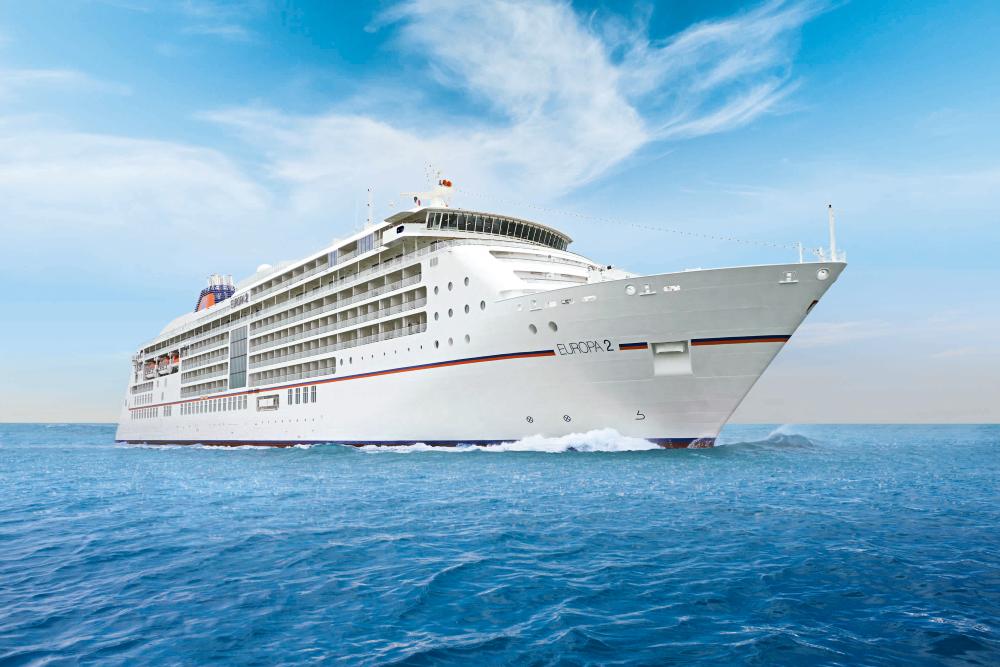 MS EUROPA 2 - Kreuzfahrtschiff