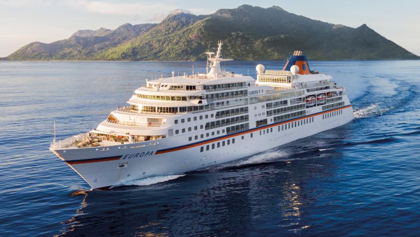 MS EUROPA - Kreuzfahrtschiff