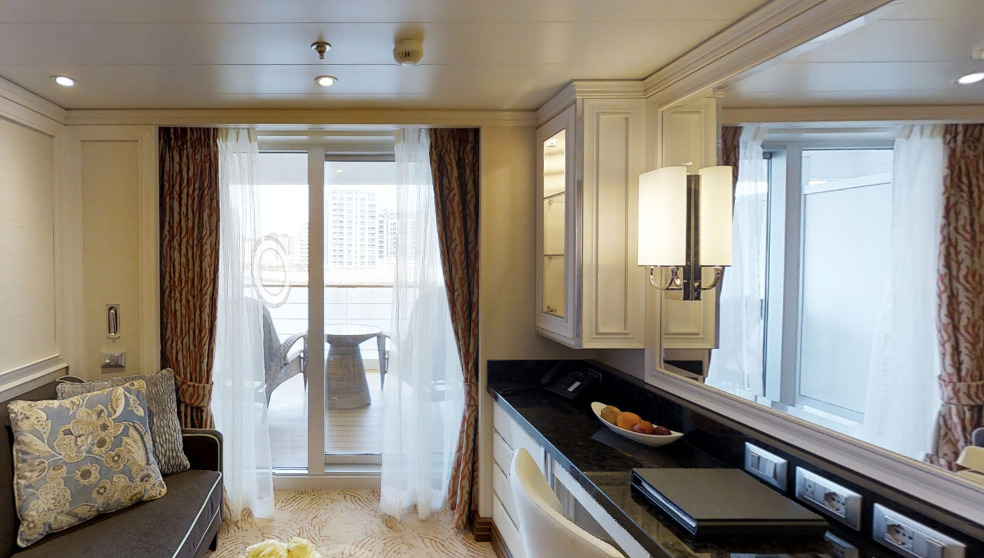 Veranda Suite H - Seven Seas Explorer - Bild 2 - Thumb