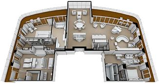 Regent SuiteKat RS - Seven Seas Explorer Übersicht