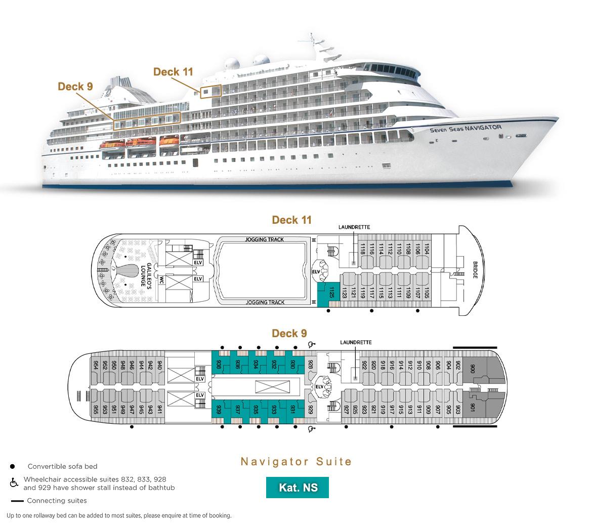 Navigator Suite NS - Seven Seas Navigator - Bild 3 - Lage Thumb
