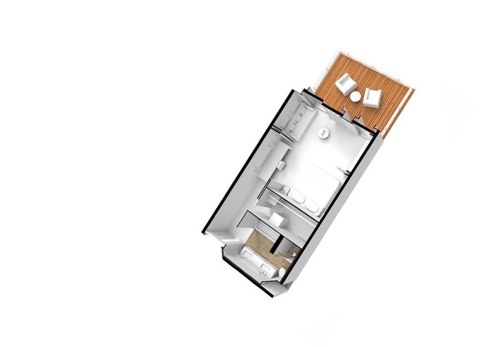 Concierge Suite - Seven Seas Splendor - Concierge Suite D / E - Seven Seas Splendor - Bild 6 - Grundriss Thumb