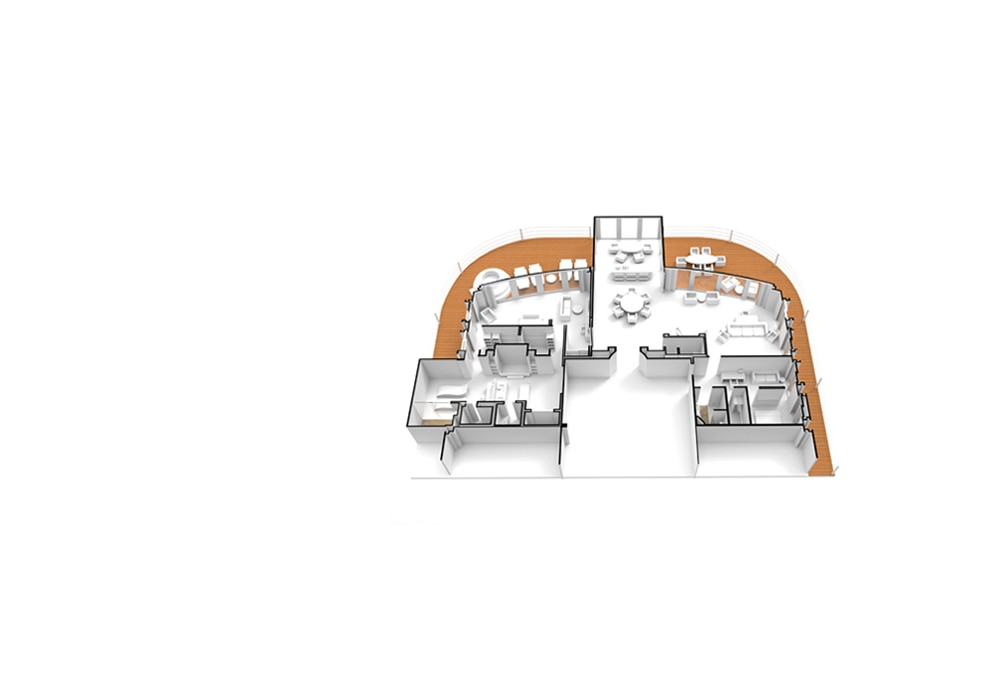 Regent Suite - Seven Seas Splendor - Regent Suite RS - Seven Seas Splendor - Bild 15 - Grundriss Thumb