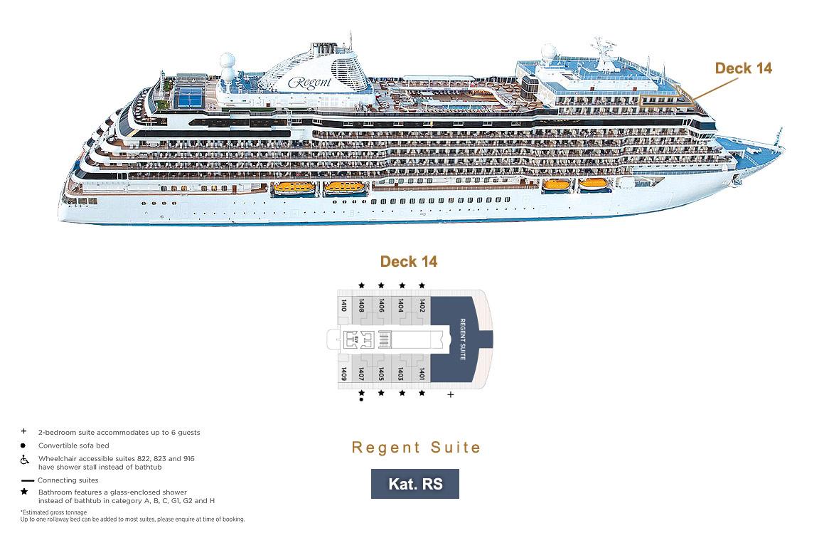 Regent Suite RS - Seven Seas Splendor - Bild 15 - Lage Thumb