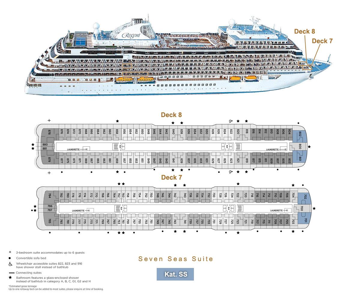 Seven Seas Suite SS - Seven Seas Splendor - Bild 7 - Lage Thumb