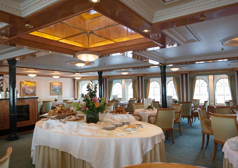 Restaurant - Sea Cloud II - Bild2 - Thumb