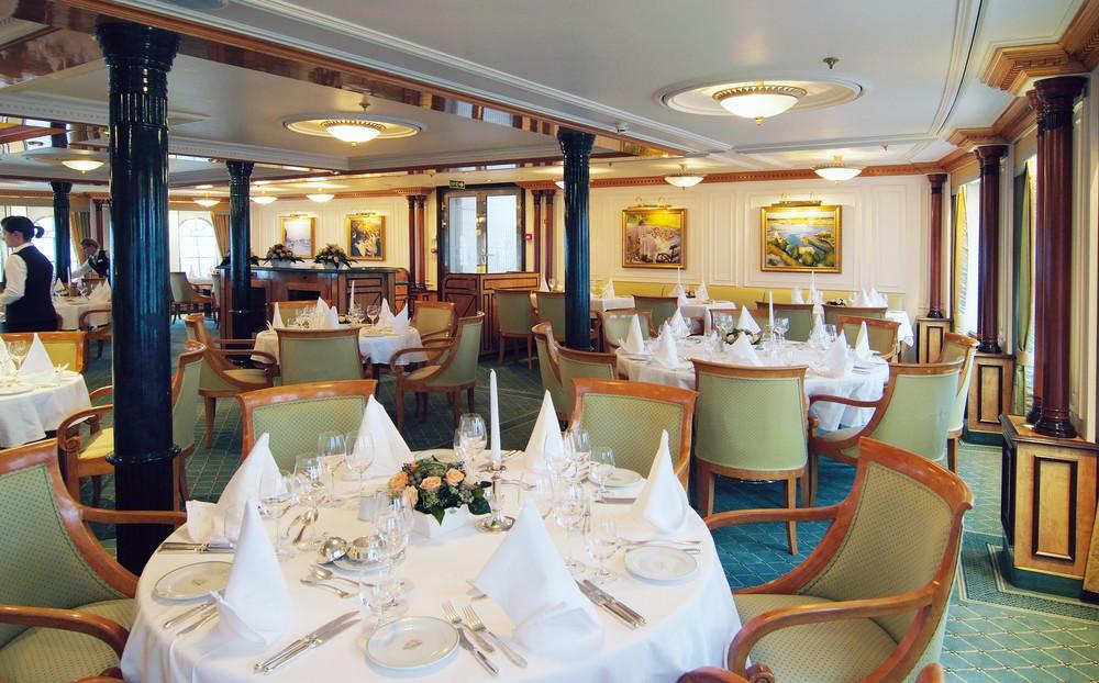 Restaurant - Sea Cloud II - Bild1 - Thumb