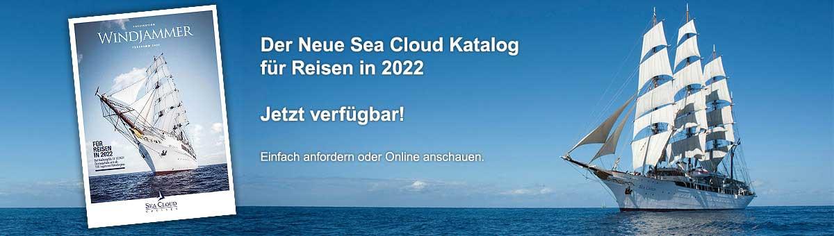 NEUER Sea Cloud Katalog 2022