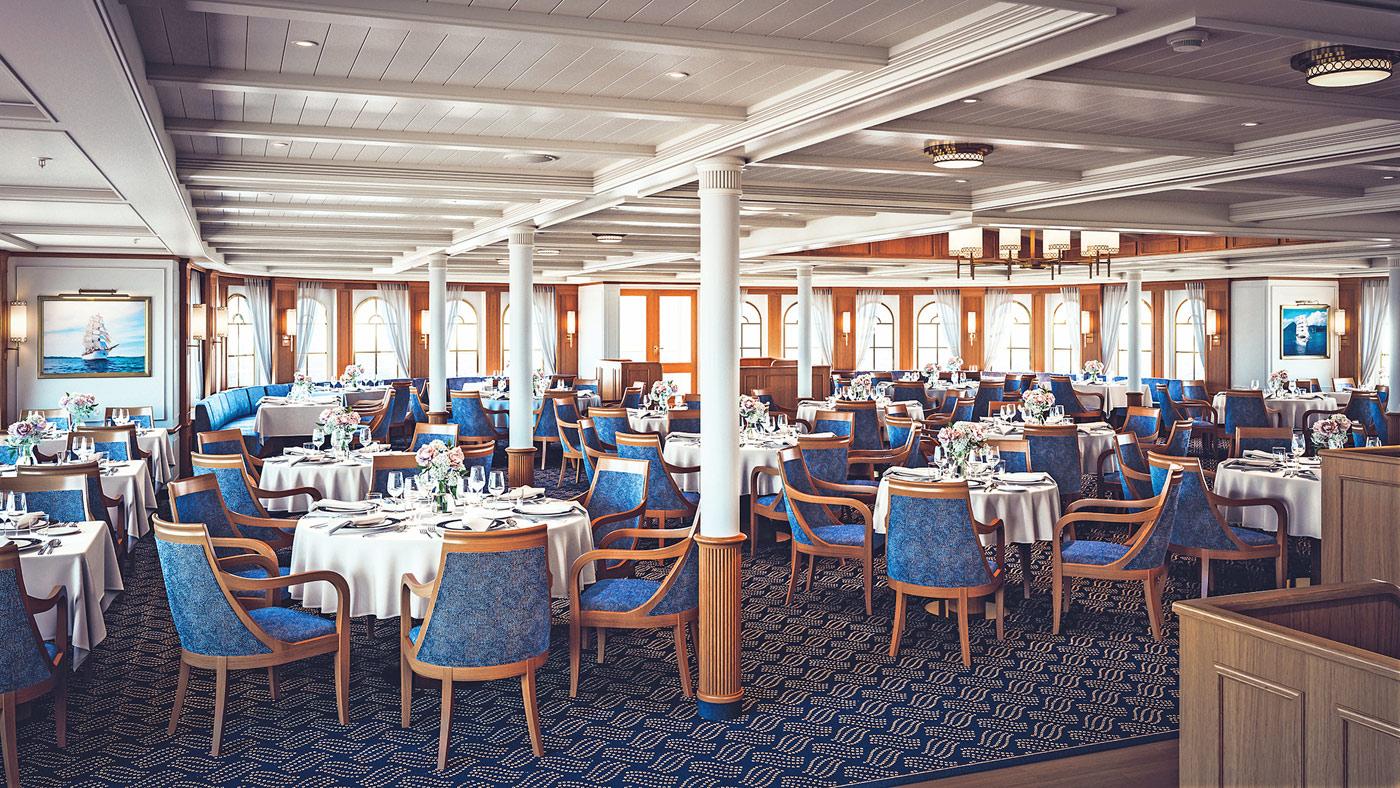 Restaurant - Sea Cloud Spirit - Bild1 - Thumb
