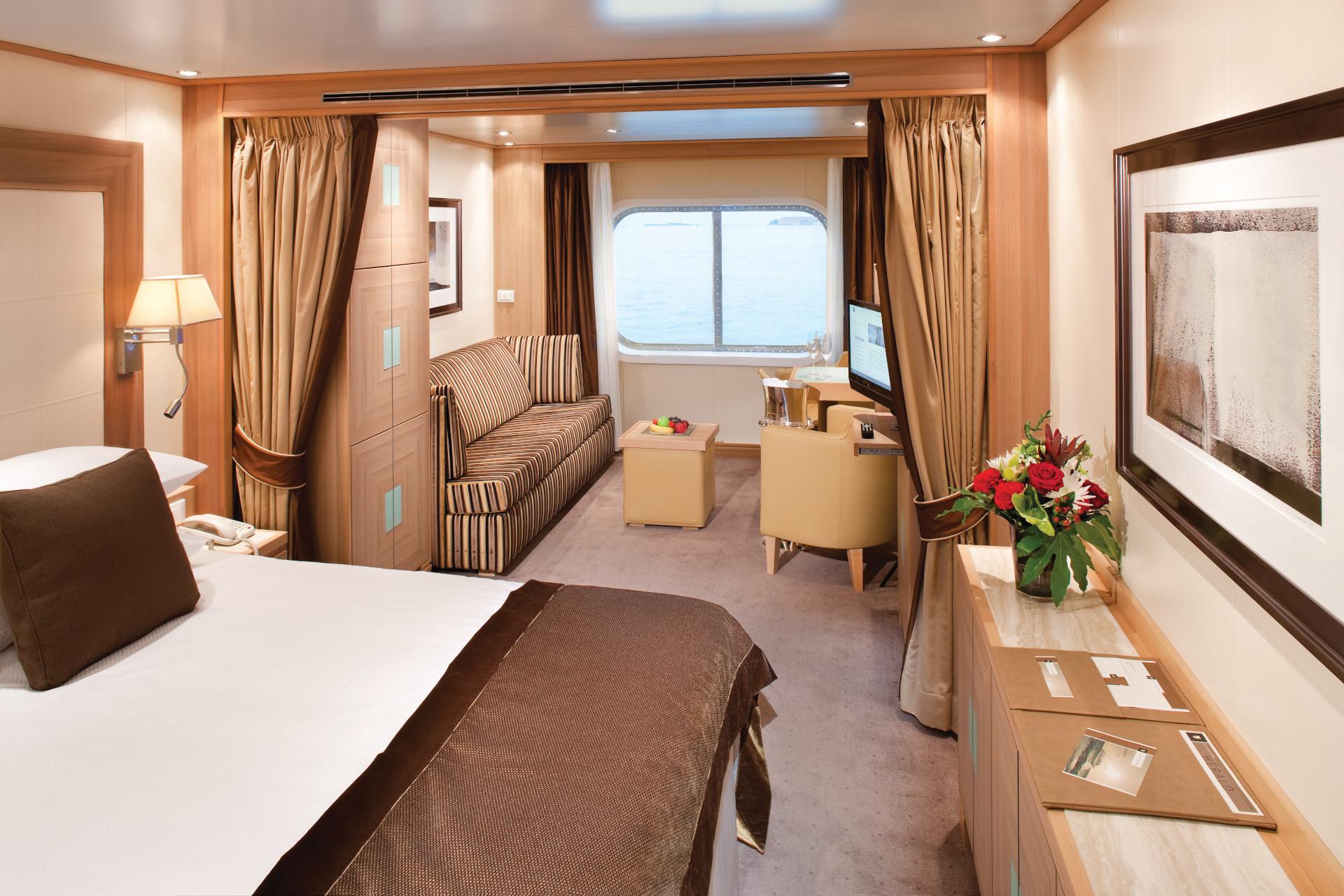 Ocean View Suite A / A1 - Seabourn Quest - Bild 1 - Thumb