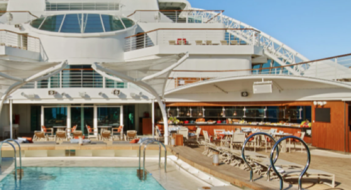 The Patio / Earth and Ocean - Seabourn Encore