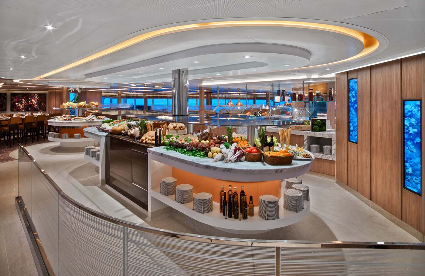 The Colonnade - Seabourn Encore