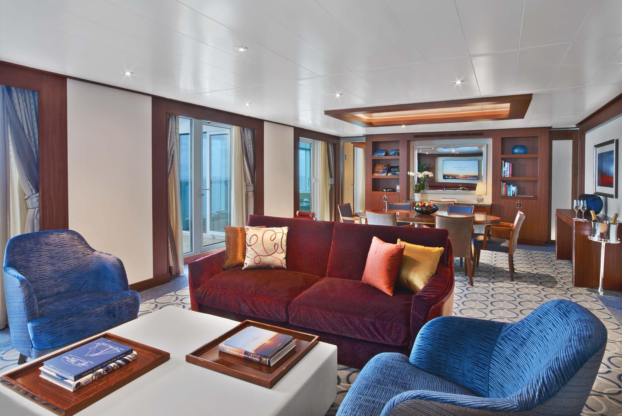 Grand Wintergarden Suite GR WG und V Seabourn Encore - Icon