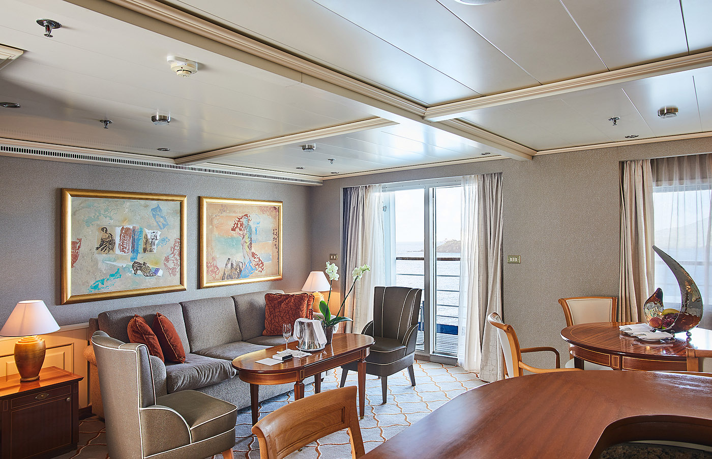 Royal Suite R1 / R2 2 Schlafzimmer Silver Whisper - Icon