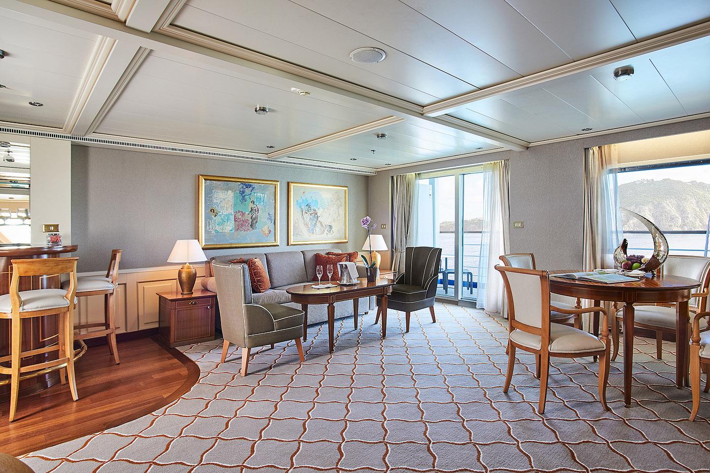 Royal Suite R1 / R2 2 Schlafzimmer - Silver Whisper - Bild 5 - Thumb